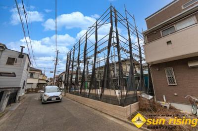 【外観】武蔵村山市大南1丁目 新築戸建 全1棟