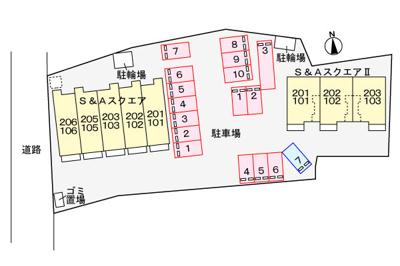 【区画図】S&Aスクエア