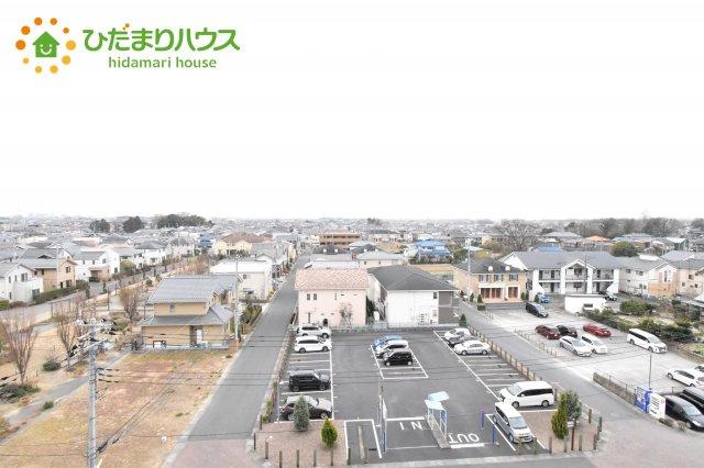 【展望】鴻巣市すみれ野 中古マンション ベルドゥムール北鴻巣