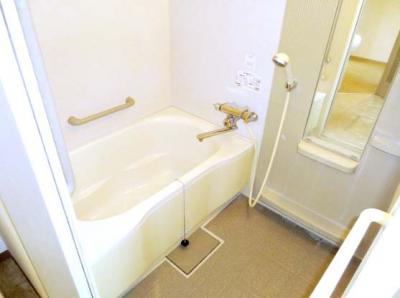 【浴室】コーポウエハラ3