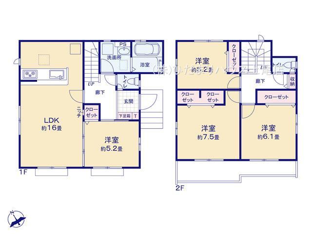 西区佐知川 8期 新築一戸建て グラファーレ 02