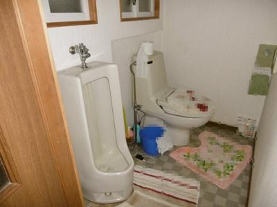 【トイレ】黒石市駅近中古住宅