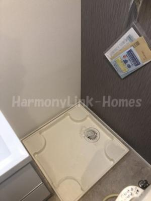グラヴィスⅠの室内洗濯機置き場(同一仕様写真)