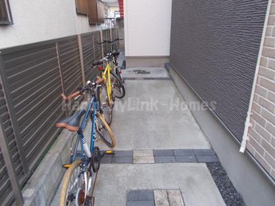 グラヴィスⅠの駐輪スペース