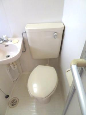 【トイレ】コーポフジノ