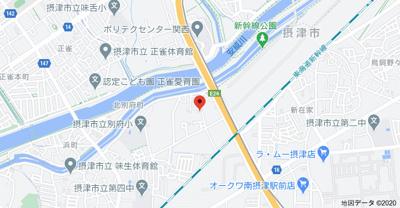 【地図】セレブラール摂津