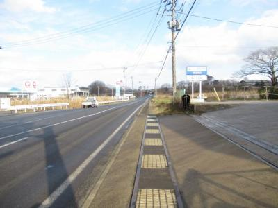 【前面道路含む現地写真】能代市浅内字浅内堤下・売地
