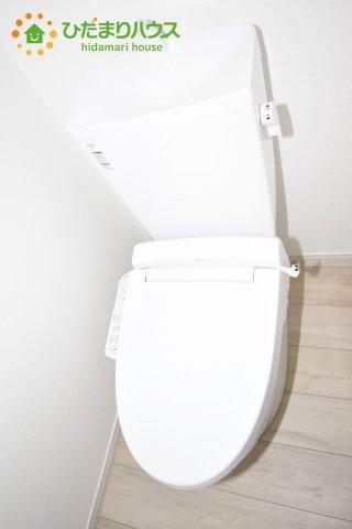 【トイレ】鴻巣市堤町 2期 新築一戸建て 1