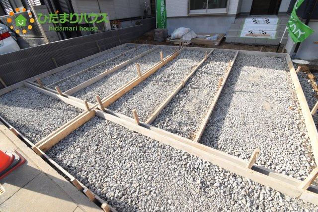 【駐車場】鴻巣市堤町 2期 新築一戸建て 1