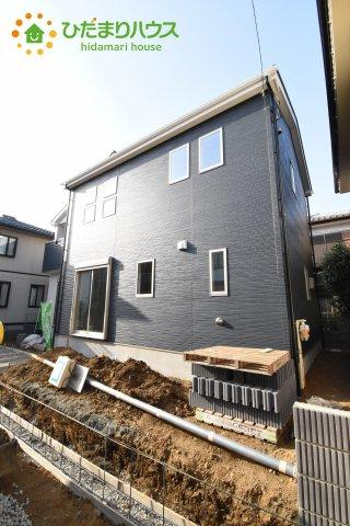 【外観】鴻巣市堤町 2期 新築一戸建て 1