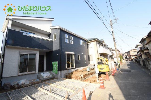 【前面道路含む現地写真】鴻巣市堤町 2期 新築一戸建て 1