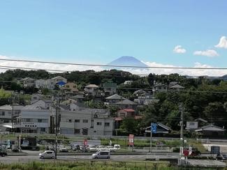 富士山も遠望できます。