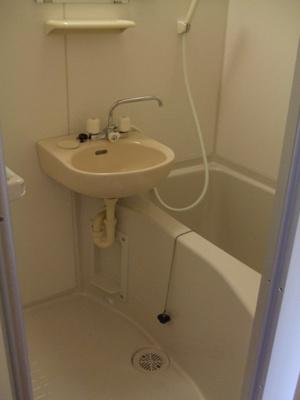 【浴室】レオパレスサンライズ飯島