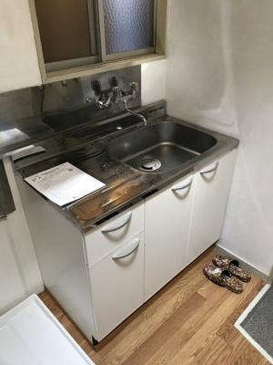 【キッチン】海野ハイツ