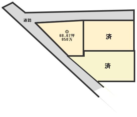 【土地図】平恒分譲地Ⅱ