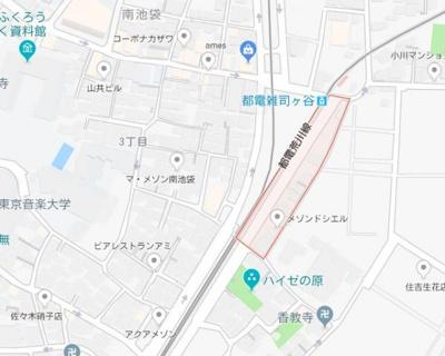 【地図】シーフォルム南池袋
