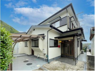 【外観】熱海市伊豆山 7DK戸建