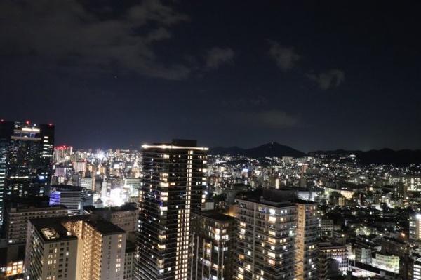 【眺望】神戸の夜景を楽しめるお部屋です♪