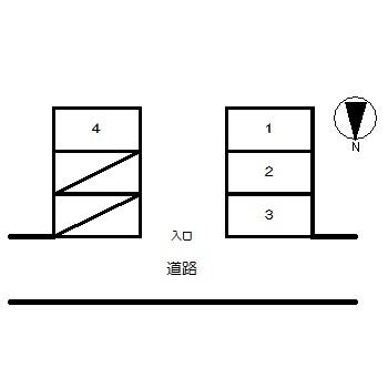 【区画図】小島第1駐車場