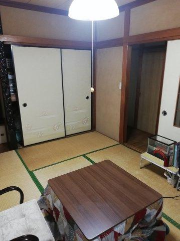 【和室】収納もしっかり付いていますのでお布団や座布団も収納できます。