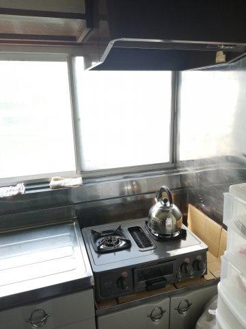 【キッチン】ガス台は置き換えができるタイプですので簡単に交換できます。