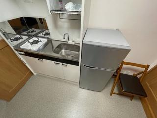 2階におりなくても調理ができるので便利です。
