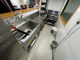 料理も掃除もしやすいキッチンです。