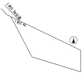 【区画図】55970 愛知県瀬戸市窯町土地