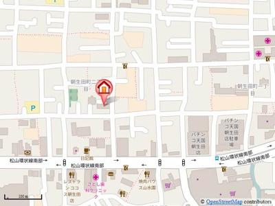 【地図】ジョイフル第1朝生田・