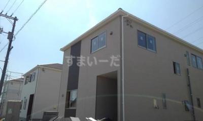 【外観】クレイドルガーデン倉敷市玉島乙島第6 3号棟