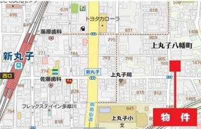 【和室】川崎市中原区上丸子八幡町 貸倉庫