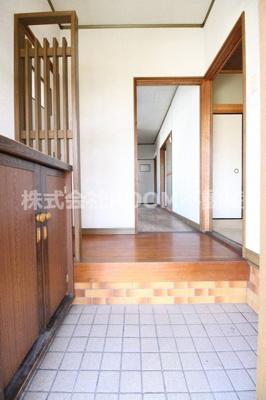 【玄関】第一稗田住宅