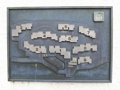 敷地内の案内図です。