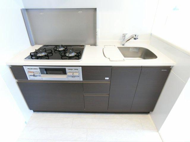 【キッチン】エステムコート難波Vブロード