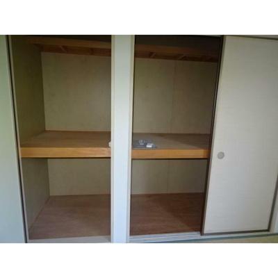 十分な収納スペースがあります※イメージ