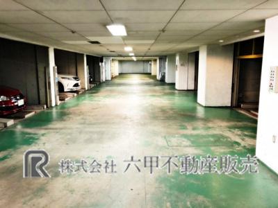 【駐車場】ライオンズマンション野江