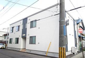 【外観】小樽市色内2丁目一棟アパート