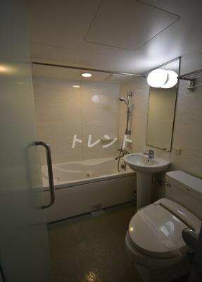 【浴室】ハイリーフ芝大門