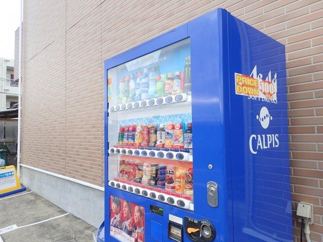 暑い夏の味方!敷地内自販機