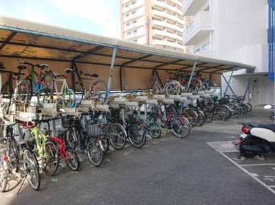 【駐輪場】ハイレジデンス浜松