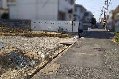 【前面道路含む現地写真】神戸市垂水区西舞子9丁目 新築戸建