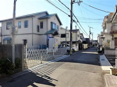 【前面道路含む現地写真】神戸市垂水区山手5丁目 新築戸建