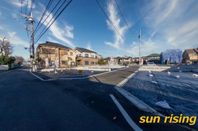 【外観】武蔵村山市大南2丁目 売地 全5区画 1号区