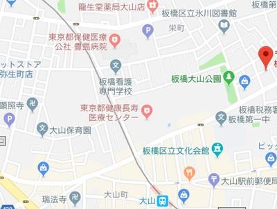 【地図】クレイシア大山