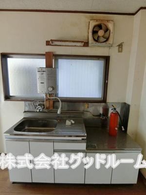 【キッチン】塚本マンション