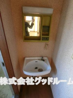 【洗面所】塚本マンション