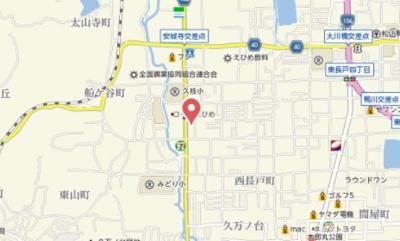 【地図】セジュールAC