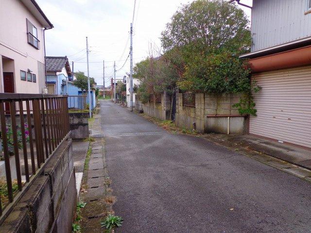 4m幅の新潟市道です