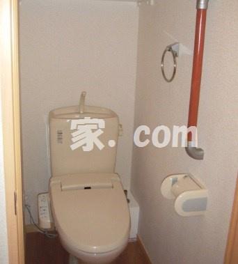 【トイレ】レオパレスオリーブハウスV(51980-304)
