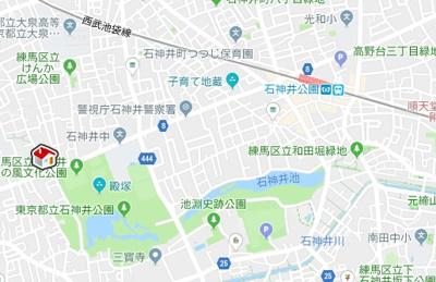 【地図】レオパレスオリーブハウスV(51980-304)